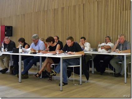 Gemeenteraadszitting Asbeco - 24 augustus 2011