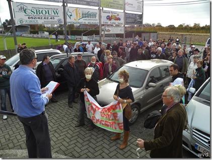 Betoging tegen Asbeco - Schoonaarde - 5 november 2011