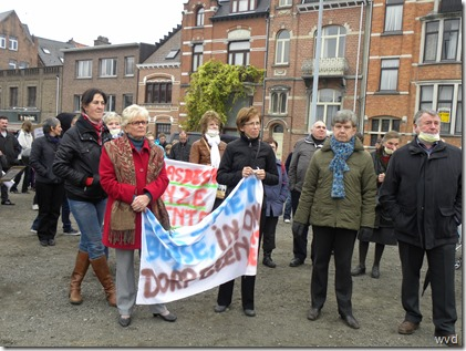 Betoging tegen Asbeco - Dendermonde - 11 november 2011