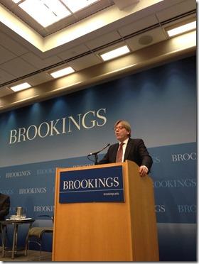 Guy Verhofstadt - Brookings Institute