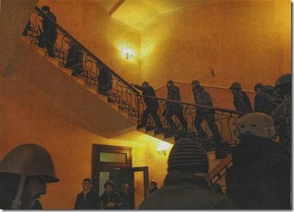 Oekraïne - Kiev - Universiteitsrector - De Standaard - 25-02-2014