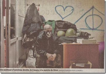 Oekraïne - Le Monde - Interieur stadhuis Kiev - 17-03-2014