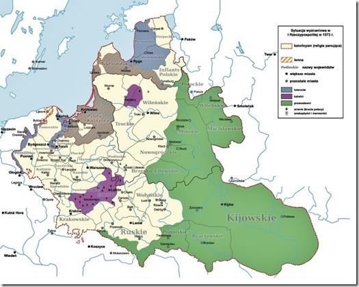 Oekraïne - Religies 16de eeuw