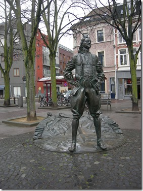 Peter 1 De Grote - Standbeeld, Kloosterstraat in Antwerpen - Manu Waegemans