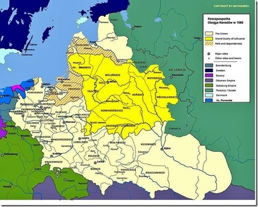 Pools-Litouws Gemenebest - 1569