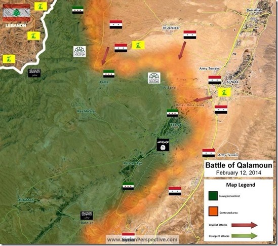 Slag om Yabroed - 12 februari 2014
