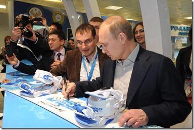 Vladimir Poetin - Sotsji - 1