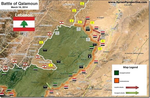 Yazbroud - Slag om Yabroud - 16 maart 2014