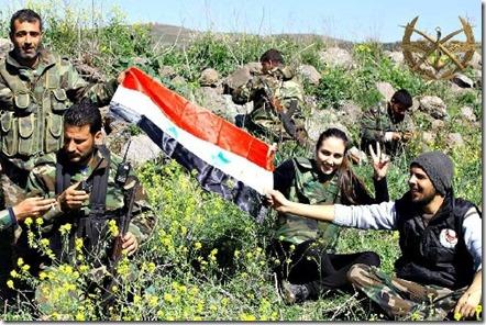Zarra - Syrisch leger - Maart 2014