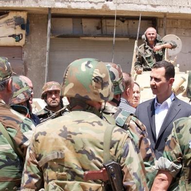 Afbeeldingsresultaat voor syrische pro assad standvastigheid