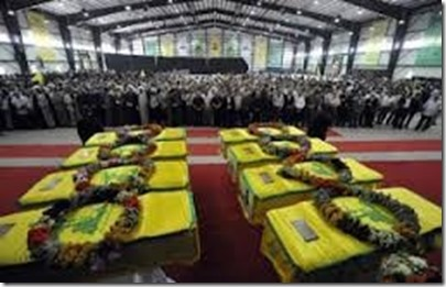 Hezbollah - begrafenis - Maart 2014