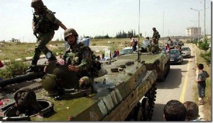 Krak des Chevaliers - Opmars leger 20-03-2014