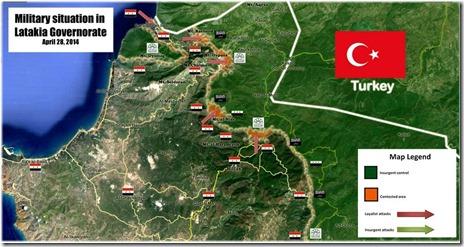 Latakia - Slagveld - 28-04-2014