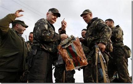 Oekraïens leger - Ontwapening - 16 april 2014
