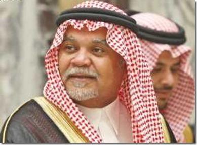Prins Bandar bin Sultan - hoofd Saoedische Veiligheidsdienst