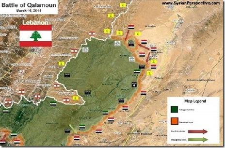 Qalamoen - Militaire toestand - 1 - 16 maart 2014