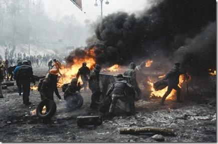 Rebellie in Oost-Oekraïne
