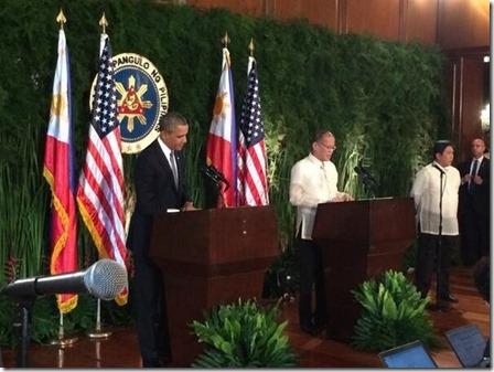 Benigno S. Aquino III en Barack Obama