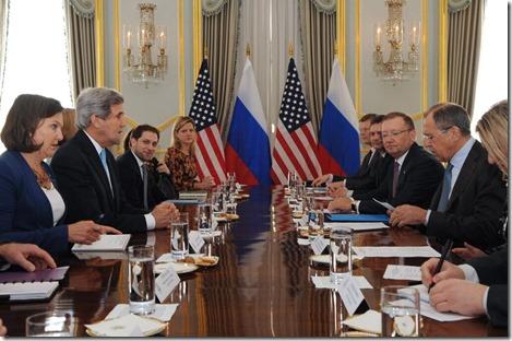 John Kerry - Amerikaans-Russische onderhandelingen over Oekraïne