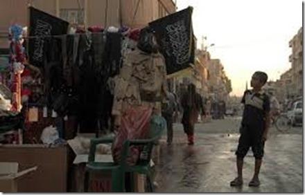 Rakka - Straatbeeld onder ISIS