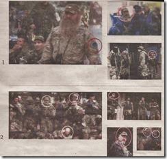 Russische soldaten in Oekraïne - De Standaard 22 april 2014