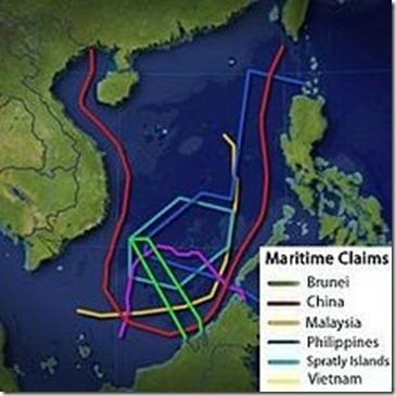 Zuid-Chinese Zee - Betwistingen eilanden