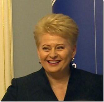 Dalia Grybauskaite - 1