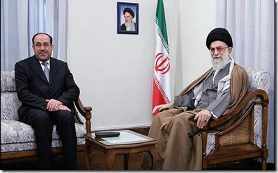 Nour Ali Maliki en Ali Khamenei