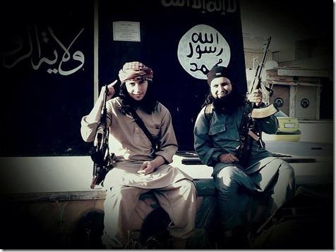 Abū Hanīfa al-Belgīkī and Abū Dujana Belgian #ISIS fighters