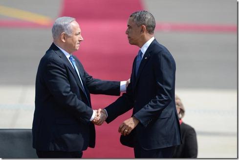 Benjamin Netanyahu en Barack Obama - 4