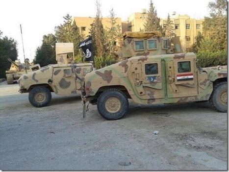 ISIS - Humvee - 15-06-2014