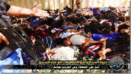ISIS - Met gevangenen executie - 8 - 15-06-2014