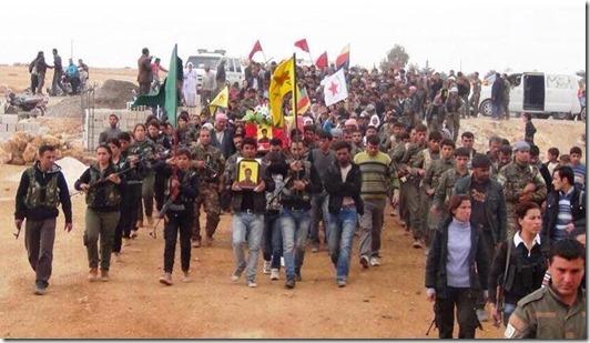 PYD-YPG - Koerden Begrafenis
