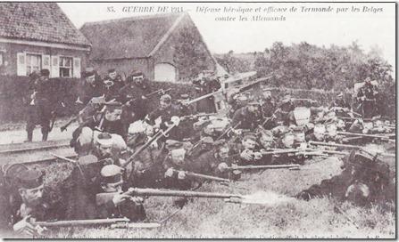 Dendermonde - Belgisch leger in actie - 2