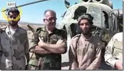 Kolonel Abdul Jabbar al Akidi met Aboe Jandal, ISIS