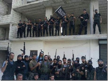 Arsal - Jihadisten - Augustus 2014