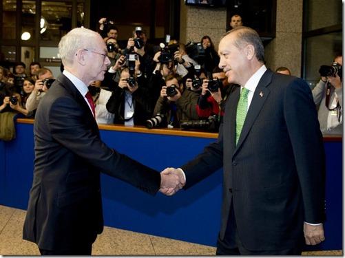 Herman Van Rompuy met Recep Tayyip Erdogan - 2