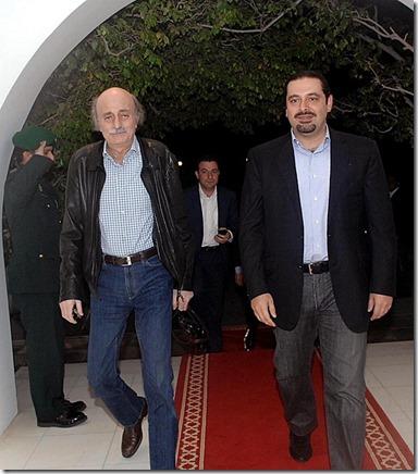 Saad Hariri & Walid Jumblatt - 1