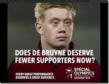 Special Olympics European Summer Games 2014 - Promotiecampagne met Kevin De Bruyne