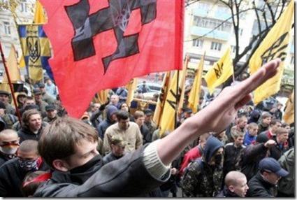 Fascistische betoging