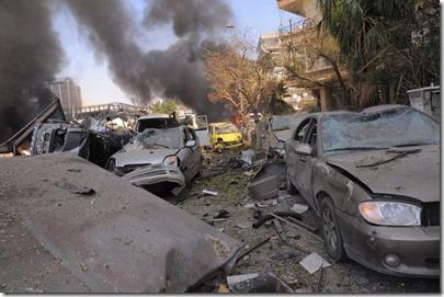 Homs - Bomaanslag - 29 april 2014