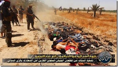 ISIS - Met gevangenen executie - 15-06-2014
