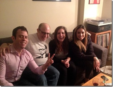 Liz Wahl, Rosie Gray, Eli Lakr en Jamie Kirchick