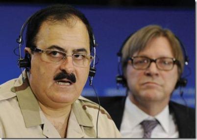 Salim Idris & Guy Verhofstadt in Europees parlement