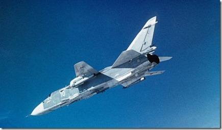 SU-24 gevechtsvliegtuig