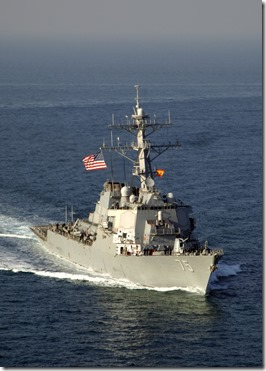 USS Donald Cook Destroyer