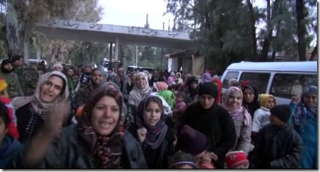 Douma - Vluchtelingen ontsnappen - 19-01-2015 - 1
