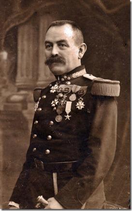 Erasme Joseph Warnant, generaal majoor