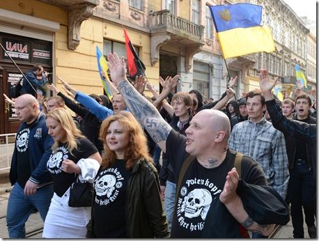 Fascisten in Oekraïne
