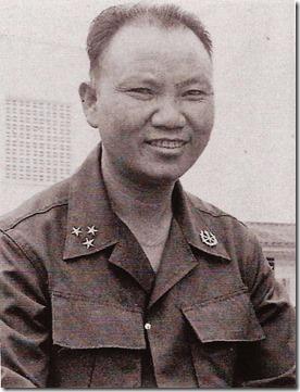 Krijgsheer en opiumproducent Vang Pao - Laos